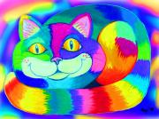 Nick Gustafson - Colorful Crazy Cat