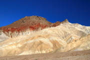 Scenic Drive Prints - colorful Death Valley landscape Print by Pierre Leclerc