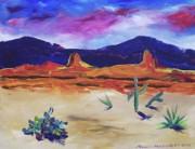 Suzanne  Marie Leclair - Colorful Desert