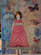 Creative Mixed Media Originals - Colorful Dreams  by Anne-Elizabeth Whiteway