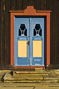 Frame House Metal Prints - Colorful Entrance Metal Print by Heiko Koehrer-Wagner
