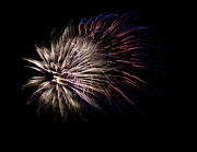 Fireworks Prints - Colorful Fireworks Print by Marilyn Hunt