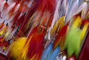 Lures Prints - Colorful Fishing Lures Made Print by Michael Melford