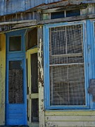 Old Frame Houses Prints - Colorful frames Print by Robert Ulmer