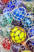 Parris Island Framed Prints - Colorful Glass Balls Framed Print by Carla Parris