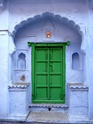 Architectural Details Photo Prints - Colorful India Print by Sophie Vigneault