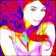 Sensual Digital Art - Colorful Love by Stefan Kuhn