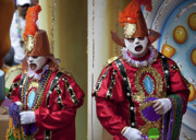 Highsmith Prints - Colorful Mardi Gras Costumes - New Orleans Louisiana Print by Carol M Highsmith