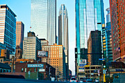 Skyline Photo Prints - Colorful Minneapolis  Print by Susan Stone