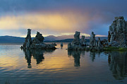 Tufa Posters - Colorful Mono Lake - California Poster by Brendan Reals