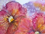 Corynne Hilbert - Colorful Pansies