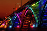 U.s.a. Originals - Colorful Peace Bridge by Joe  Cascio
