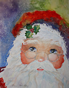 Santa Claus Originals - Colorful Santa by Terri Maddin-Miller