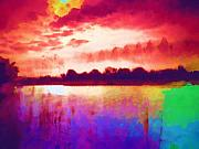 Bright Colors Metal Prints - Colorful Skies Metal Print by Deborah MacQuarrie