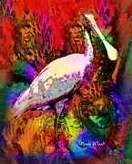 Doris Wood - Colorful Spoonbill