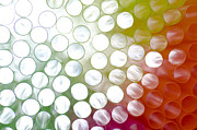 Straws Posters - Colorful straws Poster by Mats Silvan