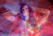 Desdemona Prints - colorful surreal woman mannequin photography - Desdemona Print by Sharon Hudson