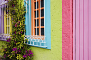 San Miguel De Allende Framed Prints - Colorful Walls Framed Print by Jeremy Woodhouse