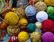 Jaipur Photos - Colorful Yarn by Inti St. Clair