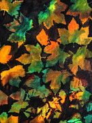 Colors Of Autumn Painting Prints - Colors of Autumn Print by Harri Spietz