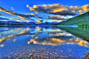 Montana Landscape Art Posters - Colors of Clouds Poster by Scott Mahon