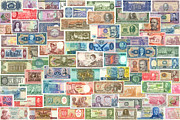 Guyana Prints - Colors of Currency Print by Stephen Younts