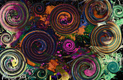 Polychromatic Prints - Colors Of Life Print by Jennifer Bodrow