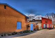 Adobe Buildings Prints - Colors of New Mexico II Print by Steven Ainsworth