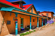 Adobe Buildings Prints - Colors of New Mexico Print by Steven Ainsworth