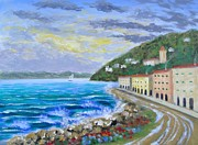 Colors Of The Riviera Print by Larry Cirigliano