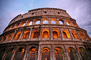 Ancient Cities Framed Prints - Colosseum - Coliseu Framed Print by Ruy Barbosa Pinto