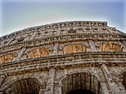 Postcard Suggestions Acrylic Prints - Colosseum by Roberto Alamino