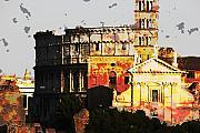 Colosseum Rome Print by Jim Kuhlmann