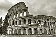 Carriages Art - Colosseum  Rome by Joana Kruse