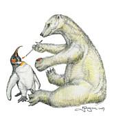 Colour Bear Print by Mark Johnson