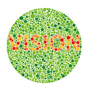 Diagnostics Prints - Colour Blindness Test Print by David Nicholls