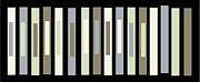 Minimalism Art Framed Prints - Colour Permutation Sequence 32 Framed Print by Evan Steenson