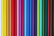 Chromatic Prints - Coloured Pencils Print by Michal Boubin