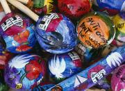 Souvenirs Photos - Colourful Painted Maracas, Close Up by Axiom Photographic