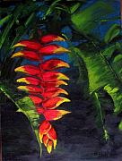 Botanicals Originals - Colours of Hawaii  by Denise Lockhart Bush