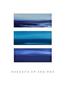 Colours Of The Sea Print by Iris Lehnhardt