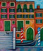 Colours Of Venice Print by Lisa  Lorenz