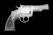 Colt Firearms For Sale Prints - Colt 357 Magnum Reverse Print by Ray Gunz