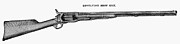 Fire Arms Prints - Colt Revolving Shotgun Print by Granger