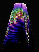 Tallest Digital Art Posters - Columbia Tower Seattle WA Poster by Tim Allen