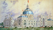 Hassam Framed Prints - Columbian Exposition, 1893 Framed Print by Granger