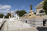 Historic Site Prints - Columbus Cemetery 4. Cuba Print by Juan Carlos Ferro Duque
