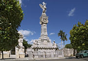 Historic Site Prints - Columbus Cemetery. Cuba Print by Juan Carlos Ferro Duque