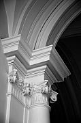 Columns Metal Prints - Columns at Hermitage Metal Print by Donna Corless