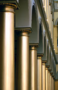 Columns Photo Metal Prints - Columns Metal Print by Pat Exum